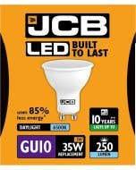 JCB 3w LED GU10 100° 6500K - S10962