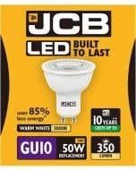 JCB 5w LED GU10 100° 3000K - S10963