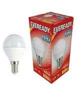 Eveready 6w LED Golf Ball Opal SES 3000K - S13608