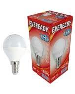 Eveready 6w LED Golf Ball Opal SES 6500K - S13609