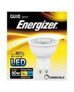 Energizer 5.5w LED GU10 36° DIM 3000K - Picture of Box