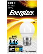 3.4w Energizer LED Golf 3000k E27 - S8836