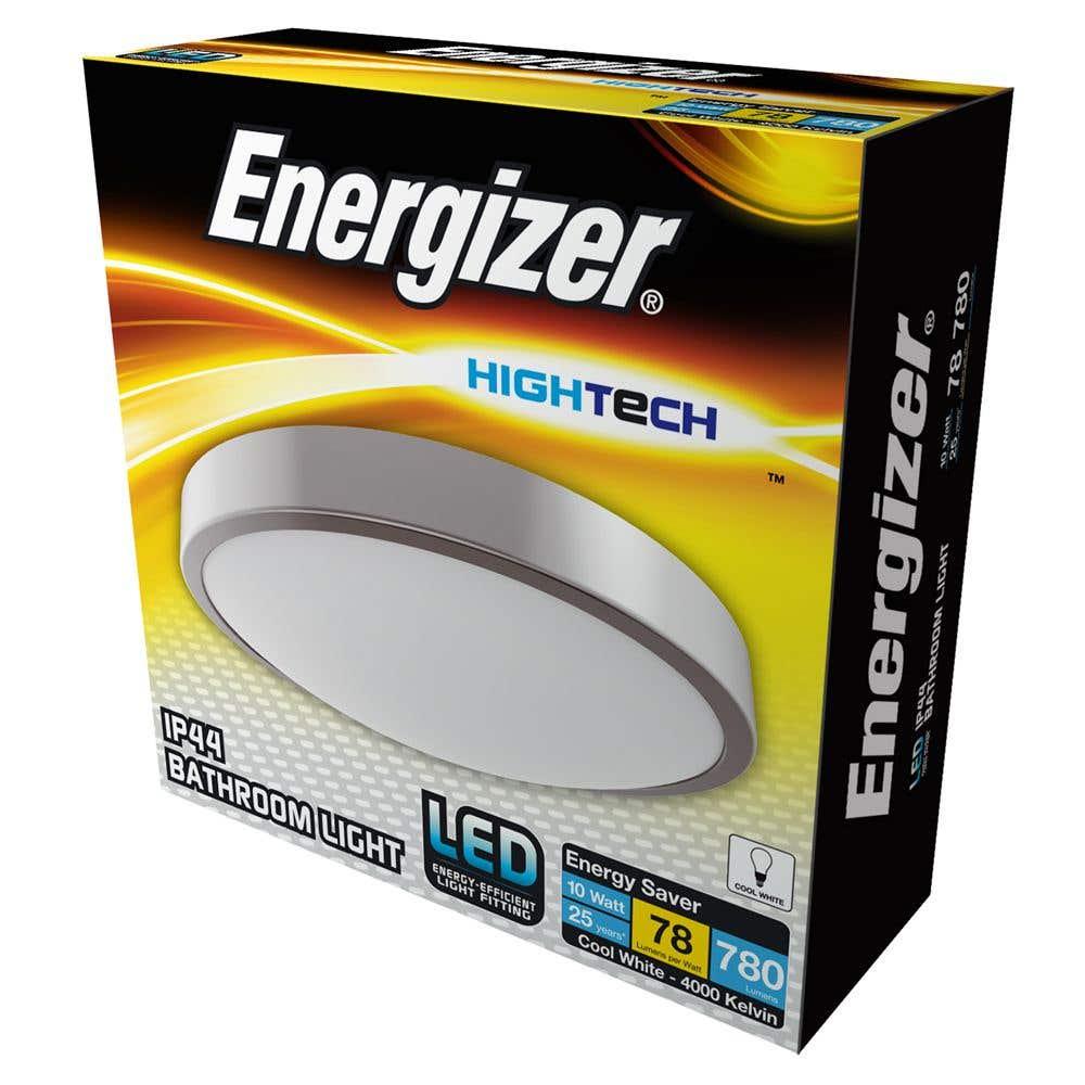 Image of 10w Energizer Bathroom Light 4000k - S12514