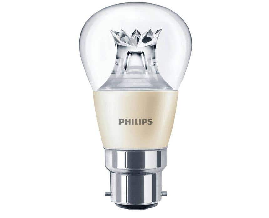 Image of Philips Master LEDbulb 6W DimTone Round B22 - 2200-2700K