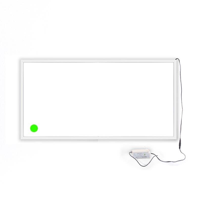 new emergency white frame
